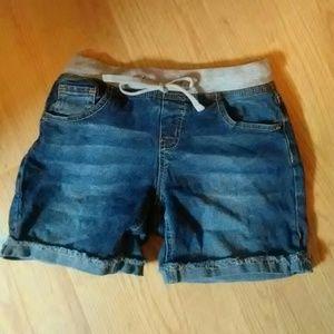 Justice stretch denim shorts **BOGO all kids items